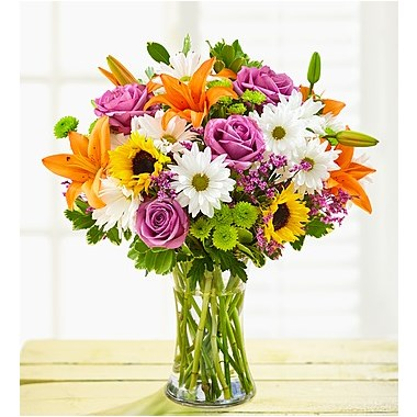 cheerful-blooms- yellow-sunflower-lily-poms- daisy-assorted- beautiful-everyday-fall- flowers-arrangement